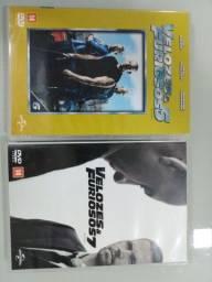 2 DVD velozes e furiosos 6 e 7