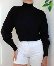Blusa tricô - M