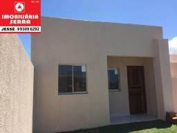JES 004. Casa com 55 M² 2 QTS em Campinho da Serra I. Área total de 90 M². 140MIL