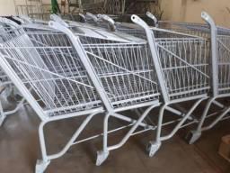 Carrinhos de Super Mercado Jateamento e Pintura