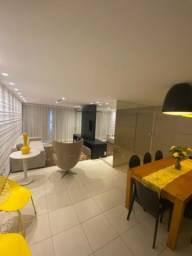 Apartamento beira mar 3 Suites Mobiliado
