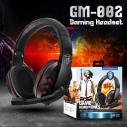 Fone game headphone novos entregamos