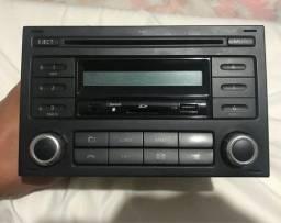 Rádio original polo Fox vw rd5