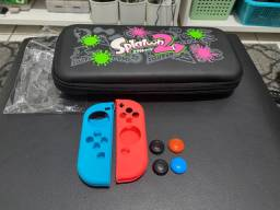 Case Switch + 4 Grip + case solicine joycon