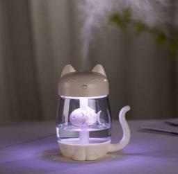 Umidificador de ar e luminária