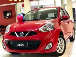 Nissan March SV 2016 completo 43 mil km ~ Vende, Troca e Financia