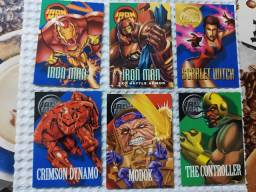 Cards Marvel Anos 90 - Diversos