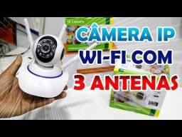 Câmera ip babá eletrônica visão noturna 4k entregamos pronta entrega loja física