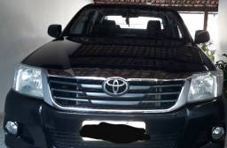 Toyota Hillux CD 2.7 flex 13/13 preta