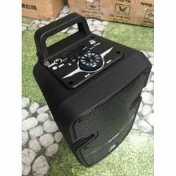Caixa de Som Amplificadora kismo QS602- 800watts(P.M.P.O)