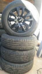 Jg roda aro 15 Onix 2019 active com pneus semi novos