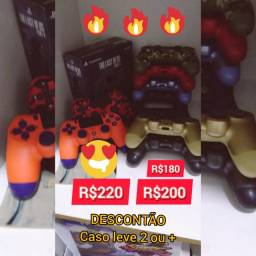 Vendo Controles PS4 de Todas as Cores! Por tempo Limitado! Leia a Descrição
