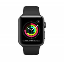 Relógio Apple watch série 3 42 mm Preto Original
