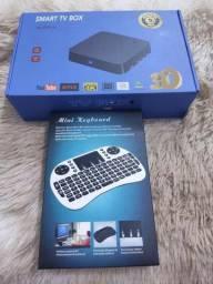 Tv box + mini teclado