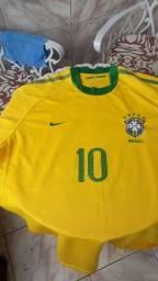 Camisa seleção Brasileira Copa do mundo 2010 tamanho GG.