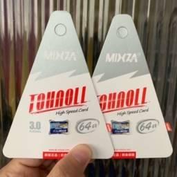 Cartão Micro SD Mixza 64 Gb classe 10 Original