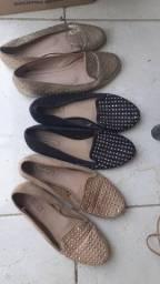 Sapato baixo com taxinha