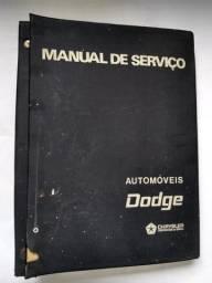 Manual De Serviço Dodge Dart Original E Raro