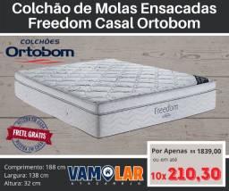 Título do anúncio: Colchão de Casal Freedom de Molas Ensacadas!