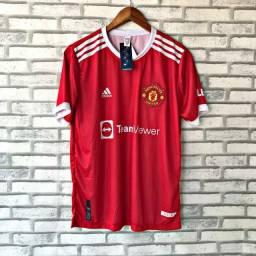 Título do anúncio: Camisa de time DRY-FIT de boa qualidade do P ao GG