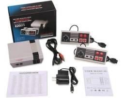 Mini Video Game Retrô 620 Jogos Embutidos C/ 2 Controles