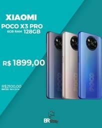 Título do anúncio: Smartphone Xiaomi Poco X3 pro 128gb lacrado (Ac.cartão)