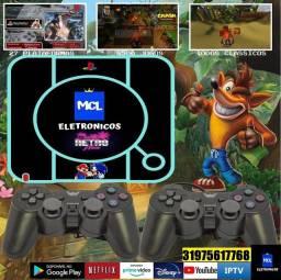 Video Game 20.000 jogos e Tv box (2 em 1)