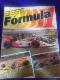 Título do anúncio: Álbum de Figurinhas Fórmula 1