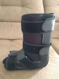Bota imobilizadora ortopédica curta