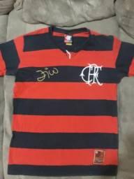 Camisa oficial do Flamengo retro edição limitada