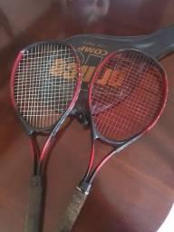 Título do anúncio: 2 Raquetes de Tênis + capa