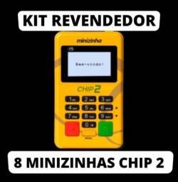 Título do anúncio: 8 unidades minizinha chip2, atacado
