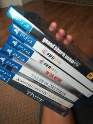 Jogos PS4 usados em perfeito estado