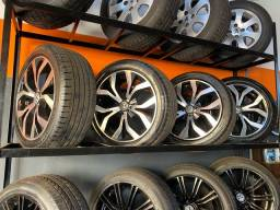Título do anúncio: Rodas Aro 17? com pneus