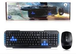 Kit teclado e mouse gamer Weireles sem fio x-zang