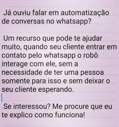 Automatização de conversas no whatsapp
