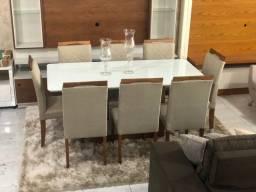 Título do anúncio: Mesa de jantar 8 lugares nova completa pronta entrega
