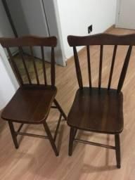 Título do anúncio: Cadeiras de madeira