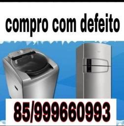 Máquina de lavar Geladeira