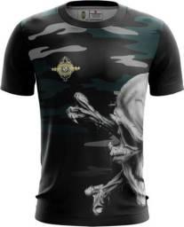 Camiseta Camisa Caveira -ear (uso Liberado)