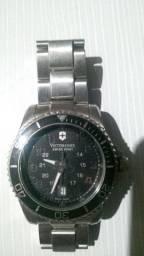 Relógio Victorinox original - SWISS ARMY - prata