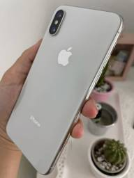 iPhone 64 GB com nota e completo