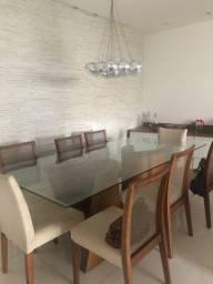 Mesa c 8 cadeiras