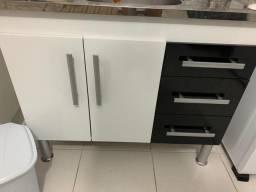 Armário de cozinha sem tampa