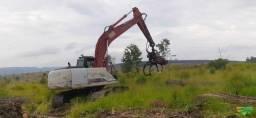 trator escavadeira link belt, 210 x2, ano 13