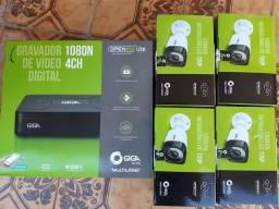 Título do anúncio: Câmeras Giga Sony Orion 1499,00 Instalado Kit com 4