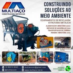 Consultoria em usinas de reciclagem de entulhos (RCC)