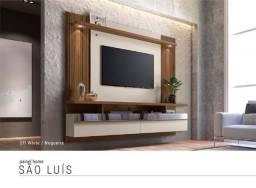 Título do anúncio: painel com led , bancada , espelhpo tv de 60 polegadas