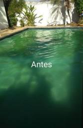 Título do anúncio: Limpamos piscina em geral