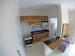 Apartamento à venda com 1 dormitórios em Caiçara, Praia grande cod:ACT1273